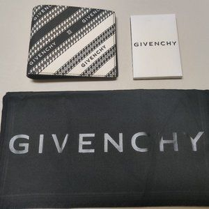 Givenchy Logo & Chain Bifold Wallet